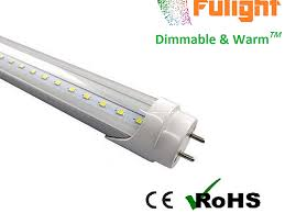dimmable led lights fulight dimmable t8 led light