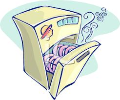 Cartoonish Dishwasher Royalty Free Clip Art Illustration Rh Clipartguide Com Cartoon Blank Coupon