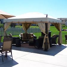 Namco Patio Furniture Covers by Namco 10 X 12 Finial Cabin Style Single Tiered Gazebo 5lgz3153 Nam