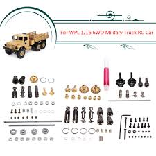 Upgrade Metal OP Accessory Set DIY Parts For WPL 1/16 6WD RC Car ... Truck Parts Military Surplus Trucks Heavy Equipment 1 Pair Metal Trailer Hook Shackles Buckle For Wpl Rc Car Crawler 18genuine Us B And M Winch M37 M715 8000lbs 25 Ton 007728126 1969 Mack M123e2 10 Tractor Youtube List As Built United States Armed 1992 Freightliner Tpi Astra Bm 201 Mt Military Truck Parts Vehicle From Two Russian Zil 131 With Winch Sale Covers Breton Industries Jiefang Ca30 Wikipedia Of Model Radar Vexmatech Medium