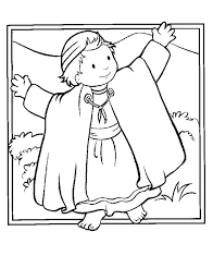 Coloring Page Boy Jesus