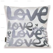 Four Letter Word Silver Pillow Home Decor Home Collection 18