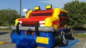Unique Monster Truck Bounce House Inflatable For Rent In St. Louis