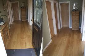 100 Peak Oak Flooring Hallways