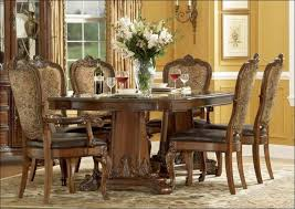 kitchen oval dining table upholstered dining chairs with arms