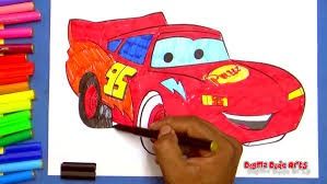 Disney Cars Movie Lightning Mcqueen Coloring Pages