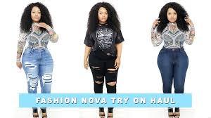 plus size curvy fashion nova try on haul edee beau youtube