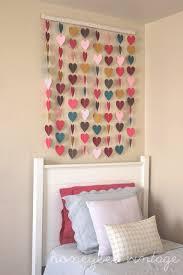 DIY Paper Heart Wall Art