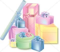 Gift clipart wedding t 7