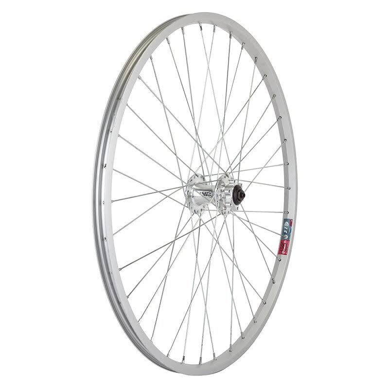 "Wheel Master Front Wheel - 26"" x 1.5"", Silver, Alloy"