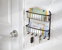 support mural cuisine mdesign porte courrier lettres et clés pour l entrée la cuisine