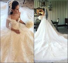 discount 2017 stunning lace wedding dresses v neck with beads a