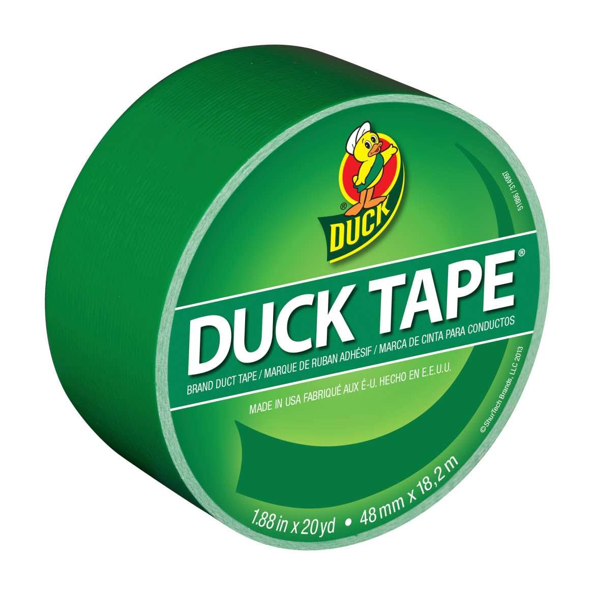 Duck Colored Duct Tape - Green Clover