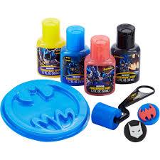 Finger Paint Bath Soap by Batman Bathtub Fingerpaint Gift Set 8 Pc Walmart Com