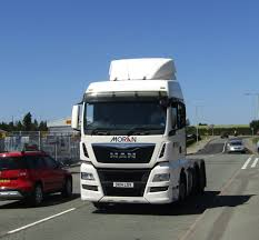 100 Moran Trucking Logistics DK14 LGV At Oswestry Joshhowells27 Flickr