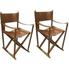 Pair Of French Rosewood And Leather Director Chairs ... Rd9582 2 Vintage Samson Folding Chairs Shwayder Bros Samso Amazoncom Wooden Chair Modern Ding Natural Solid Leather Home Design Set Of Twenty Four Bamboo Red Home Lifes French Directors In Beech 1960s Antique Armchair With Shadows Stock Photo Luggage On Edit Folding Chair Restorno Chairsantique Arm Chairsoccasional Pair Armchairs In Wood And Brown Galerie