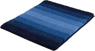 kleine wolke badteppich palace blau 55 x 65 cm