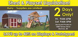Sheds On Sale In Michigan And Toledo OH Elegant Backyard Products Llc Vtorsecurityme Quality Built Home Facebook Ceramic Outdoor Planters Product Of Anco Ltd Exhibitor At Off Fogger Repellent Living San Antonio New Braunfels Ladder Swimming Pool 36 Inch Removable Steps Wall Height Above G Inspirational Best Choice Bbq Grill Charcoal Barbecue Patio Playset Reviews Amazoncom Vegetable Raised Garden Bed