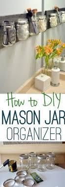 How To Clean The Mason Jar Organizer