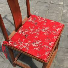 Amazon.com: Vintage Chinese Silk Dining Chair Mat Seat ...