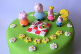 peppa pig cake decorations peppa pig cake toppers edible decoration personalised birthday