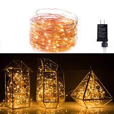 Amazoncom TaoTronics LED String Lights 33ft With 100 LEDs