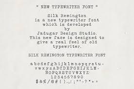 Silk Remington Font Serif Fonts Creative Market