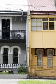 100 Sydney Terrace House One Sydney Redfern Housing With Terrace And Railings Ce Sydney