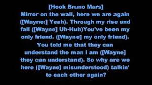 Lil Wayne Ft Rick Ross Bruno Mars Mirror Remix Lyrics