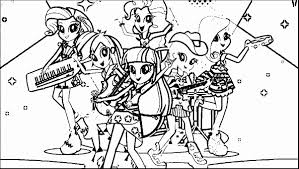 Dorable My Little Pony Coloring Pages Rainbow Dash Human Photos Outstanding Equestria Girls
