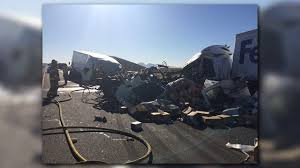 12news.com | I-10 EB West Of Tonopah Reopens After FedEx Crash One Year Later Deadly California Bus Crash Nbc Southern 1 Killed After Car And Fedex Truck In Otay Mesa Times Of Traffic Moving Again Along I81 Inrstate 5 Witnses On Fire Before Hitting Train Smashes Into Truck Lucky Escape For Driver Youtube Dead Crash I5 The Sacramento Bee Slow I481 Sthbound As Candy Is Unloaded From Outofcontrol Semi Causes Another Deadly I75 News Norcal Bus Family Ismael Jimenez Files Lawsuit Abc7com Dead Collides With Familys Sr905 Fed Ex Wreck