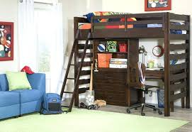 Twin Bed Loft With Desk Twin Over Full Bunk Bed With Desk And