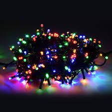 30m 200 led outdoor christmas fairy lights warm white copper wire