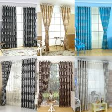 Rustic Style Window Treatments 3d Curtains With Tulle Kitchen Door Curtain Home Decoration Blinds In From Garden On