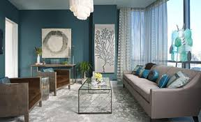 Blue Front Room Ideas Curtains For Living Walls
