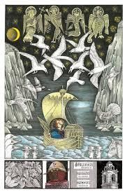 John Vernon Lords Whimsical Illustrations For James Joyces Finnegans Wake