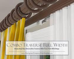 36 best decorative traverse rods images on pinterest curtains