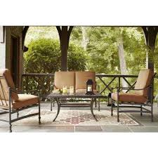 Affordable Outdoor Conversation Sets by Patio Conversation Sets Outdoor Lounge Furniture The Home Depot
