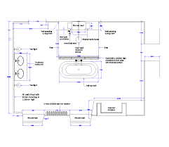 Bathroom Cad Blocks Plan by Bathroom Layout Design Plan Cad Drawing Cadblocksfree Cad