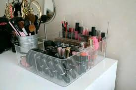badezimmer make up aufbewahrung godmorgon acryl