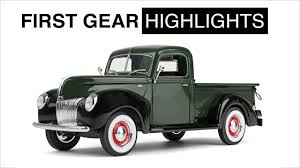 First Gear Highlights: 1940 Ford Pickup Truck - YouTube Fvision In Action Ford Showed The First Video Of Futuristic The First Diesel F150 Ever Capital Winnipeg Drive How Different Is Updated 2018 Fast Black Widow Youtube Hybrid Confirmed For 20 Fox News Trucks Turn 100 Years Old Today Motor Co Historic Photos Of Louisville Kentucky And Environs Bronco Fords Suv Turns 50 Hemmings Daily Power Stroking Truck Buyers Guide Drivgline Mustang 360 Model Aa Rarities Unusual Commercial