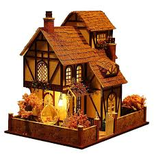 Ihubdeal My Sweet Surprise 18Piece Dollhouse Enchanted Home Lights