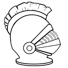 Helmet Of Salvation Coloring Page The Whole Armor God For Kids