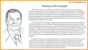 Examples Gallery Professional Bio Example Sample Biography Template Resume Release Depict Artist Creative Bi