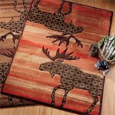 Urban Lodge Moose Terracotta Rug