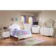 Conns Living Room Furniture Sets by Danielle Bedroom Bed Dresser U0026 Mirror White Full 11000
