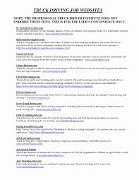 Sample Resume For Truck Driver With No Experience | Resume Work Template