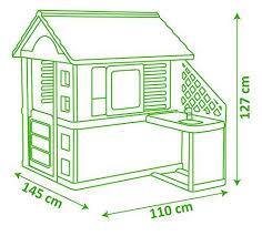 smoby pretty haus spielhaus für kinder für drinnen und draußen mit küche und küchenspielzeug 17 teilig gartenhaus für jungen und mädchen ab 2