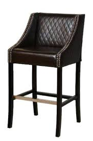 Black Leather Bar Stools by Bar Stool Wood And Faux Leather Bar Stools Wooden Swivel Bar