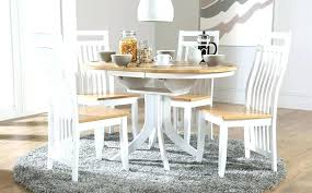 Two Tone Dining Room Set White Kitchen Table And Chairs Fabric Black Tables 8